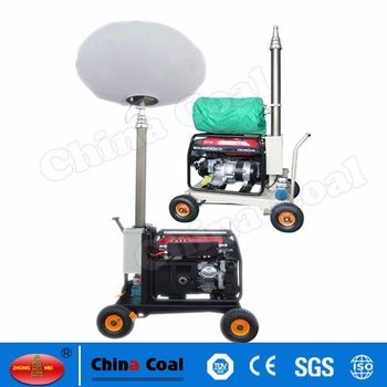 Chinacoal03 Telescopic Generator Anti Glare Mobile Balloon Light Tower This Product Is Widely Used In Road Repair Di Balloon Lights Tower Light Portable Light