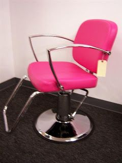 pink salon styling chair baby girl high don t know what i would do with it but like