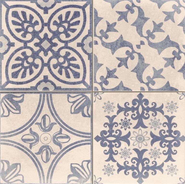 Carrelage Vintage Sol Et Mur 44x44 Skyros Realonda Carrelage Vintage Carreau De Ciment Imitation Carreaux De Ciment