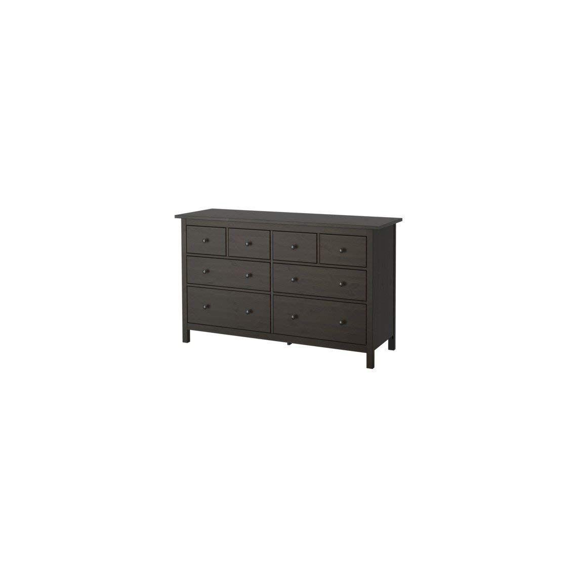 Ikea 8 Drawer Dresser Black Brown 2028 52620 230