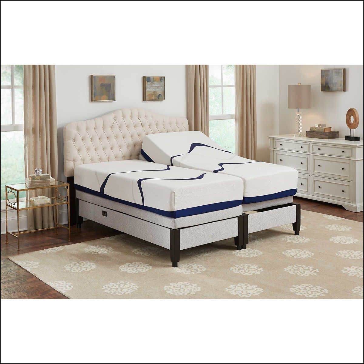 Adjustable Bed Frame for Memory Foam Mattress Adjustable