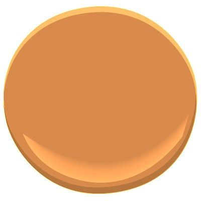 Benjamin Moore Pumpkin Spice Pumpkin Orange Paint Colors