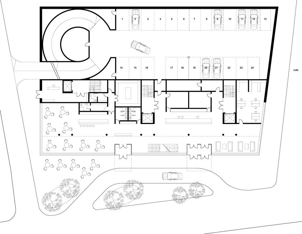 Hotel Ground Floor Plan Google Search Ground Floor Plan Floor Plans Hotel Floor Plan
