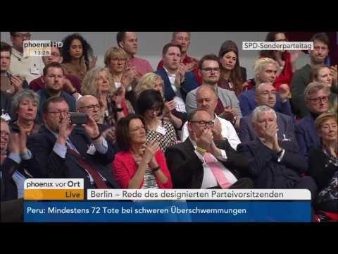 Sonderparteitag der SPD  Rede von Martin Schulz am 19 03 2017