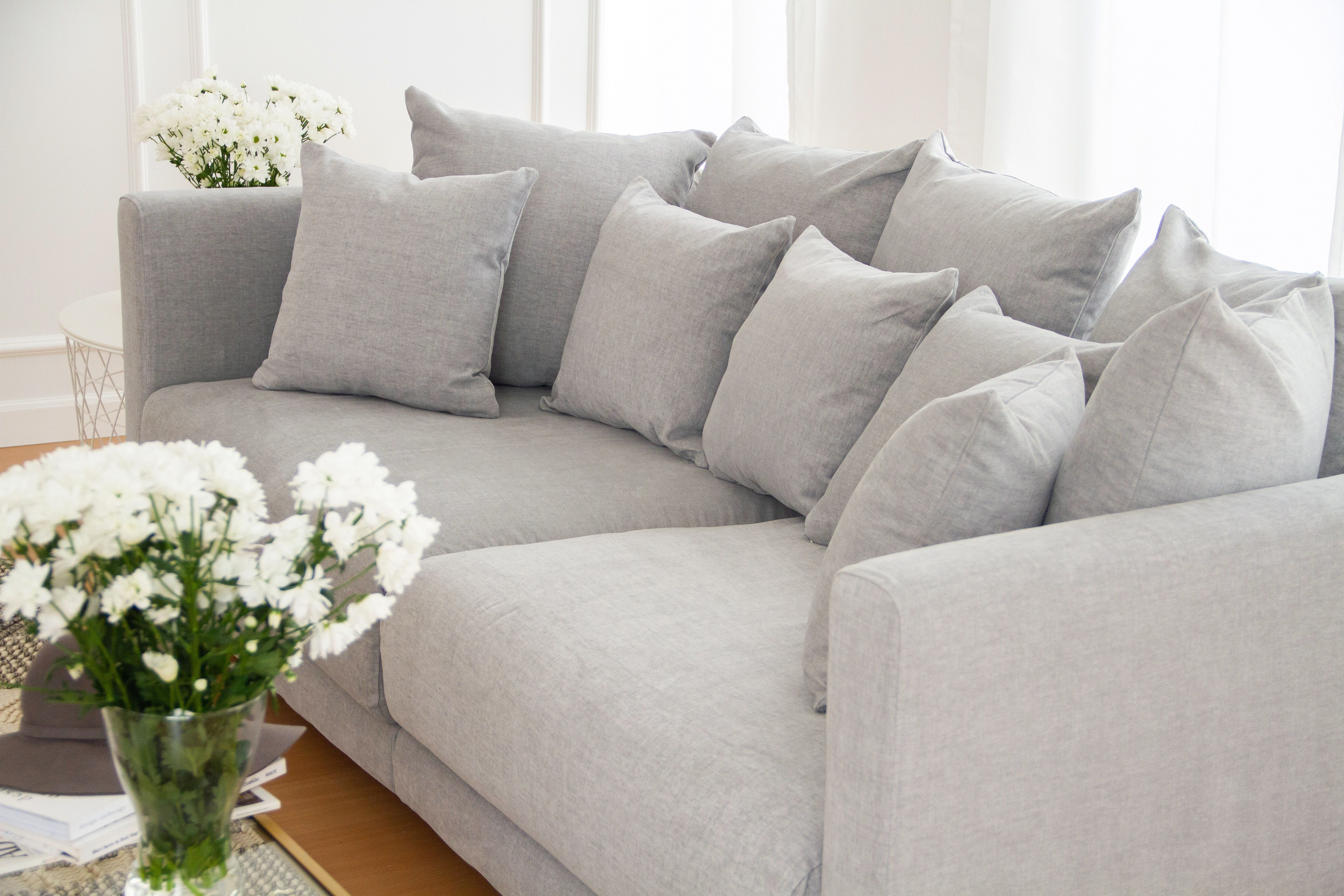 Custom Slipcovers For Ikea Stockholm 2017 Sofa In Our Madison Cotton Fabric Our New Durable Washable Cottons Are Super Comf Alte Wohnungen Wohnzimmer Wohnung