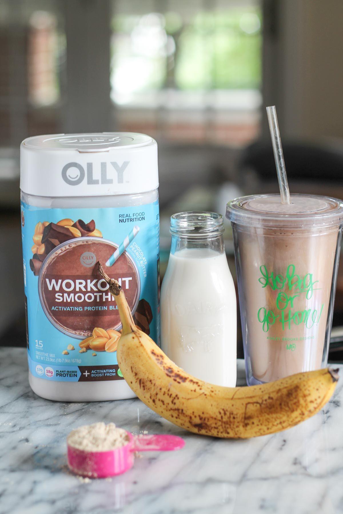 Workout smoothie recipe via the Kitchen