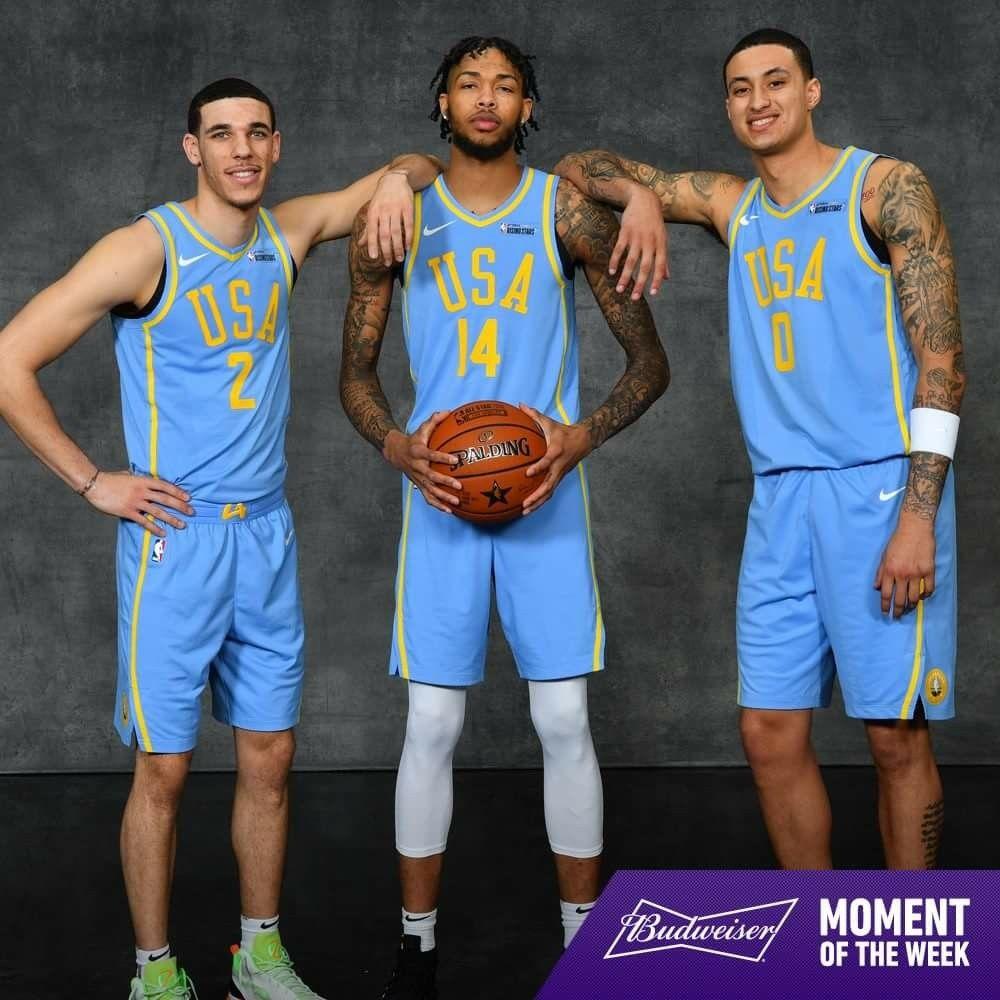 Ball Ingram And Kuuuuz Lebron James Lakers Lakers Roster Nba Stars