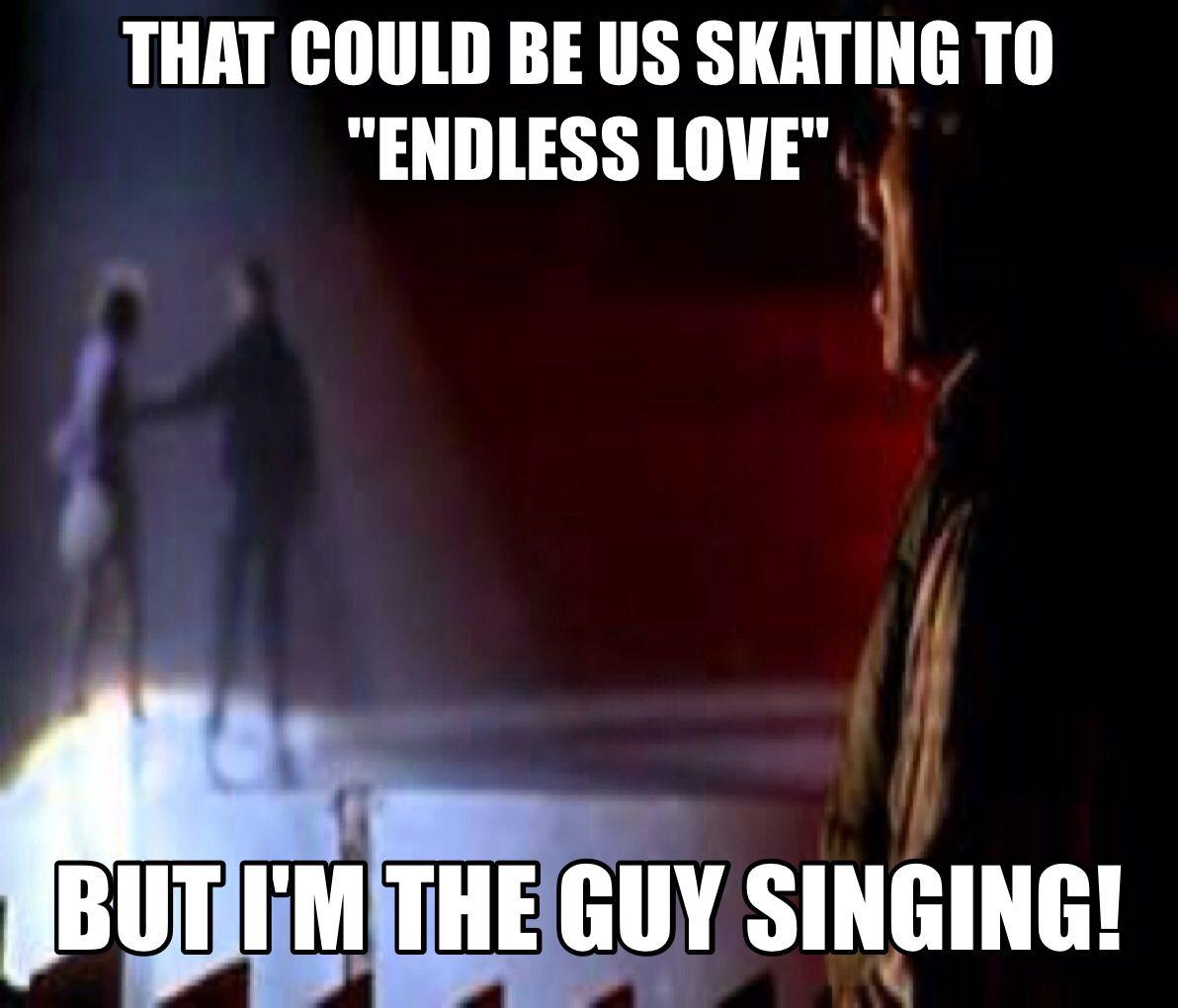 Friends Can Listen To Endless Love In The Dark Adam Sandler Happy Gilmore Thatcouldbeus Thiscouldbeus Adam Sandler Jokes Endless Love