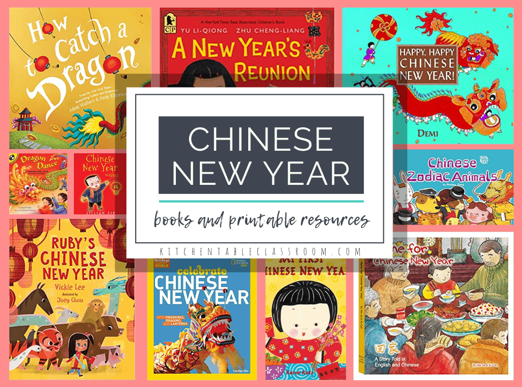 Learning About The Chinese New Year Free Printable Resources The Kitchen Table Classroom Kids Watercolor Art For Kids Chinese New Year