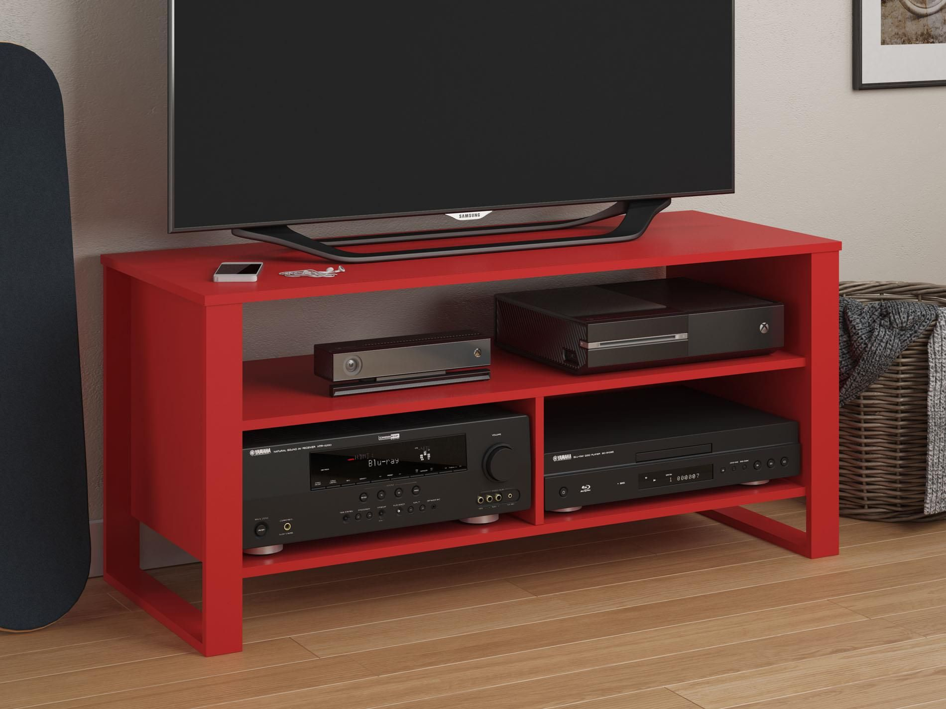 The Altra Reese Tv Stand Is A Statement Piece That Will Let Your