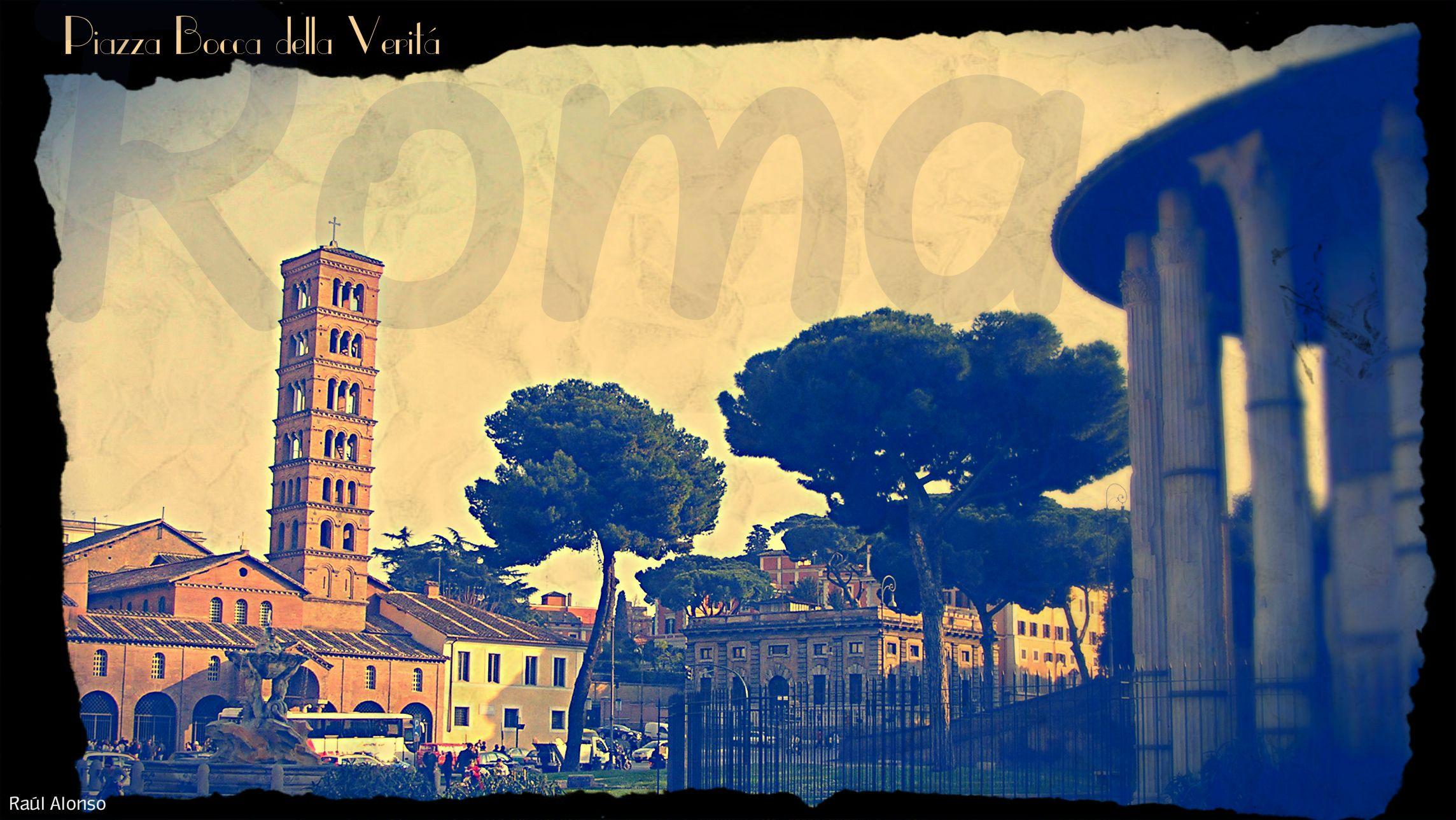 Roma. Piazza della Bocca della Verità. #roma #ancient #antichitta #romanico