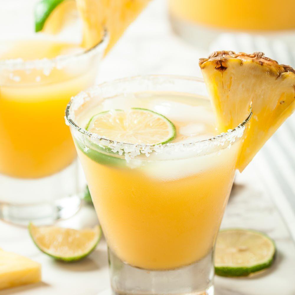 Big Batch Pineapple Margaritas