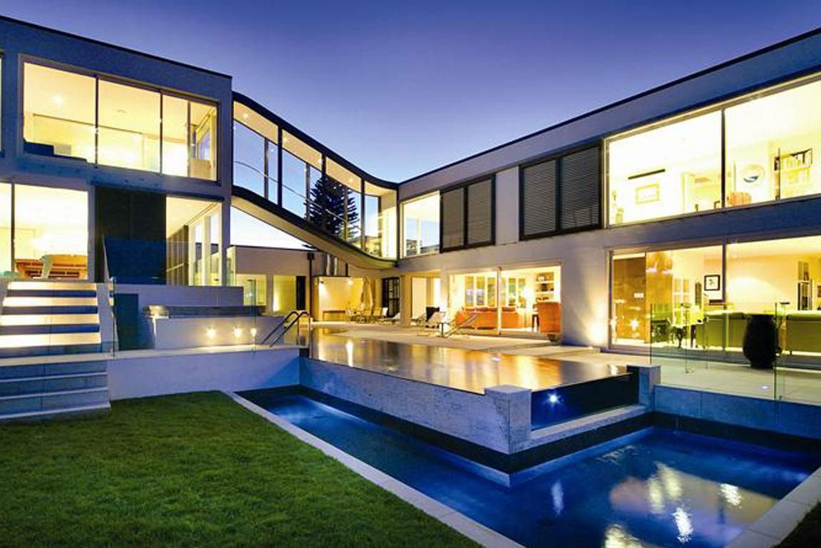 Fascinating the most beautiful houses in the world with for Most modern house in the world