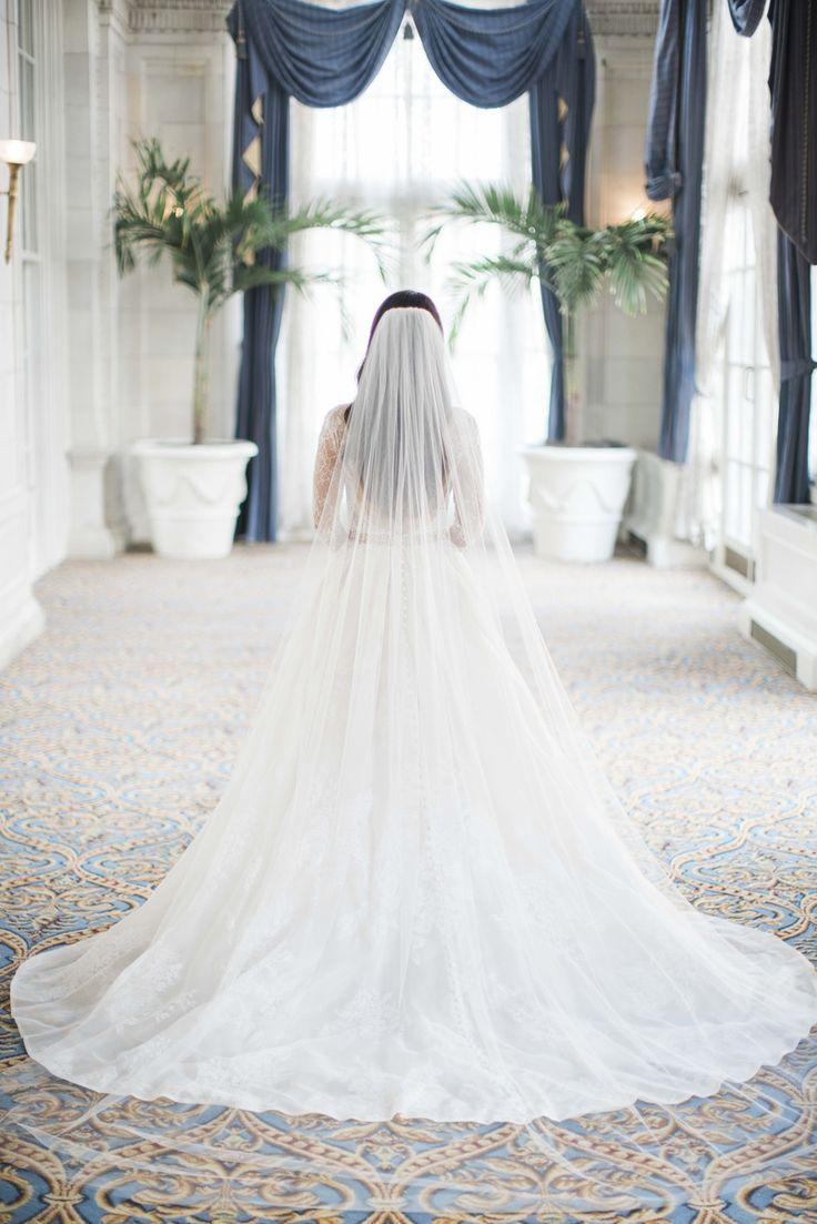 Gorgeous Veil Inspiration For Magpie Wedding In 2020 Long Veil Wedding Wedding Vail Wedding Dress With Veil