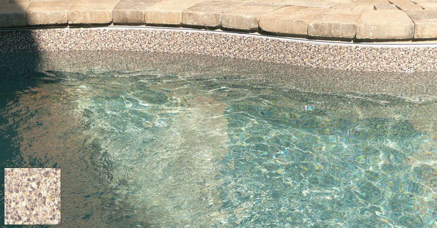 Sand Colored Vinyl Pool Liner Medium Coloured Liners