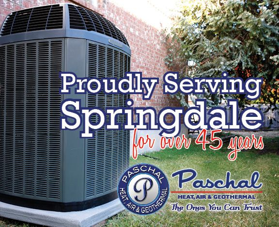 Air Conditioning Company In Springdale Ar Paschal Heat Air