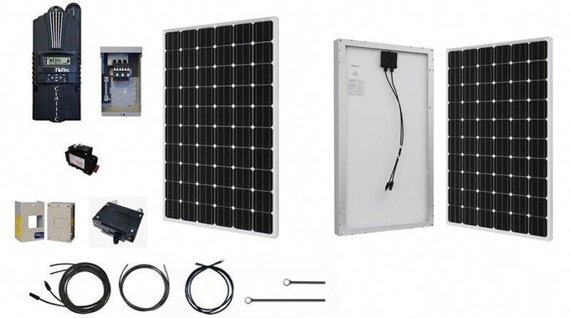 Large Off Grid Solar System Renogy S Large Solar Power System With Three Heavy Duty Variants For 1000w In 2020 Off Grid Solar Best Solar Panels Off Grid Solar Power