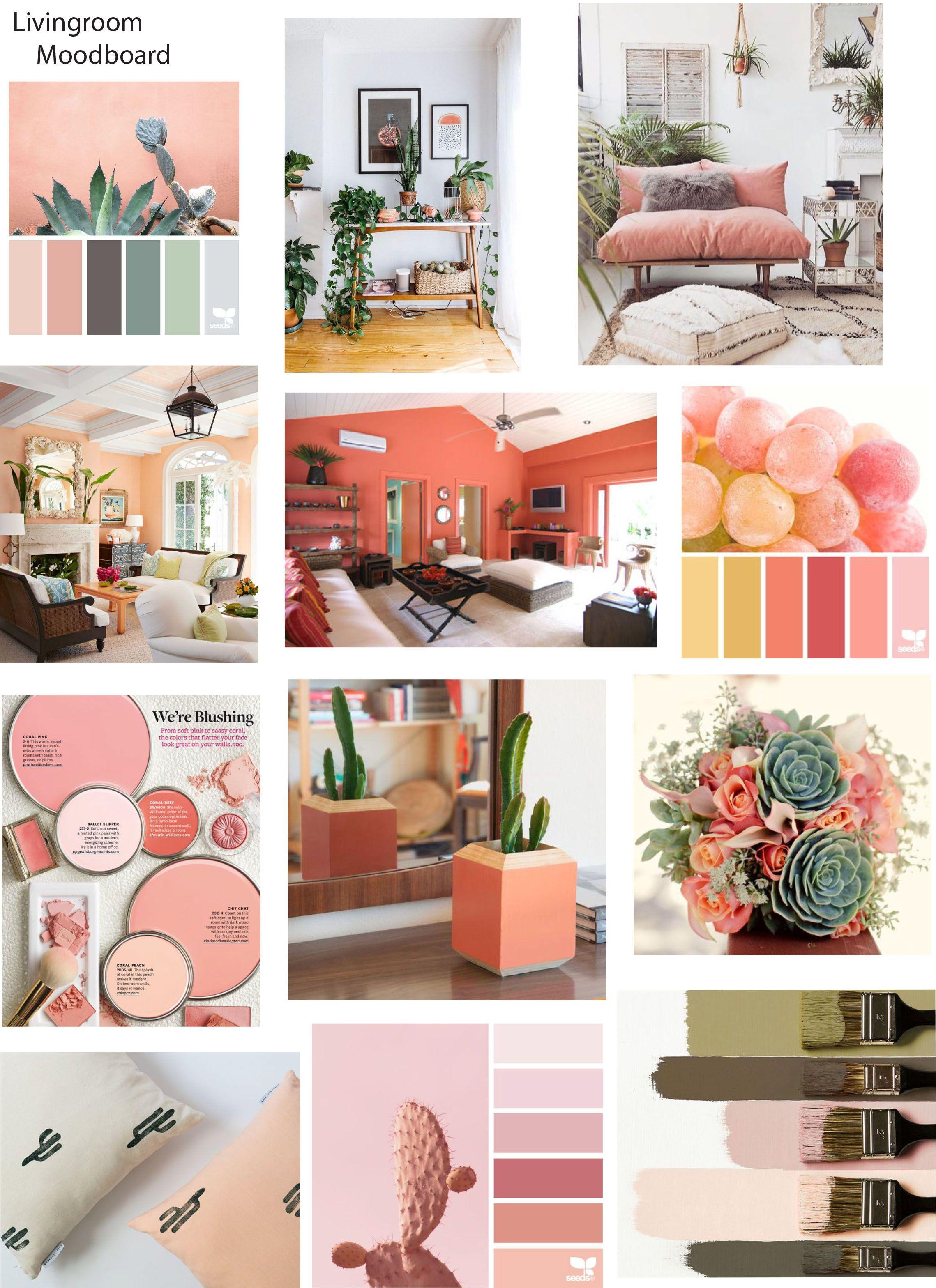 Peach Salmon Blushes Pinks Oranges