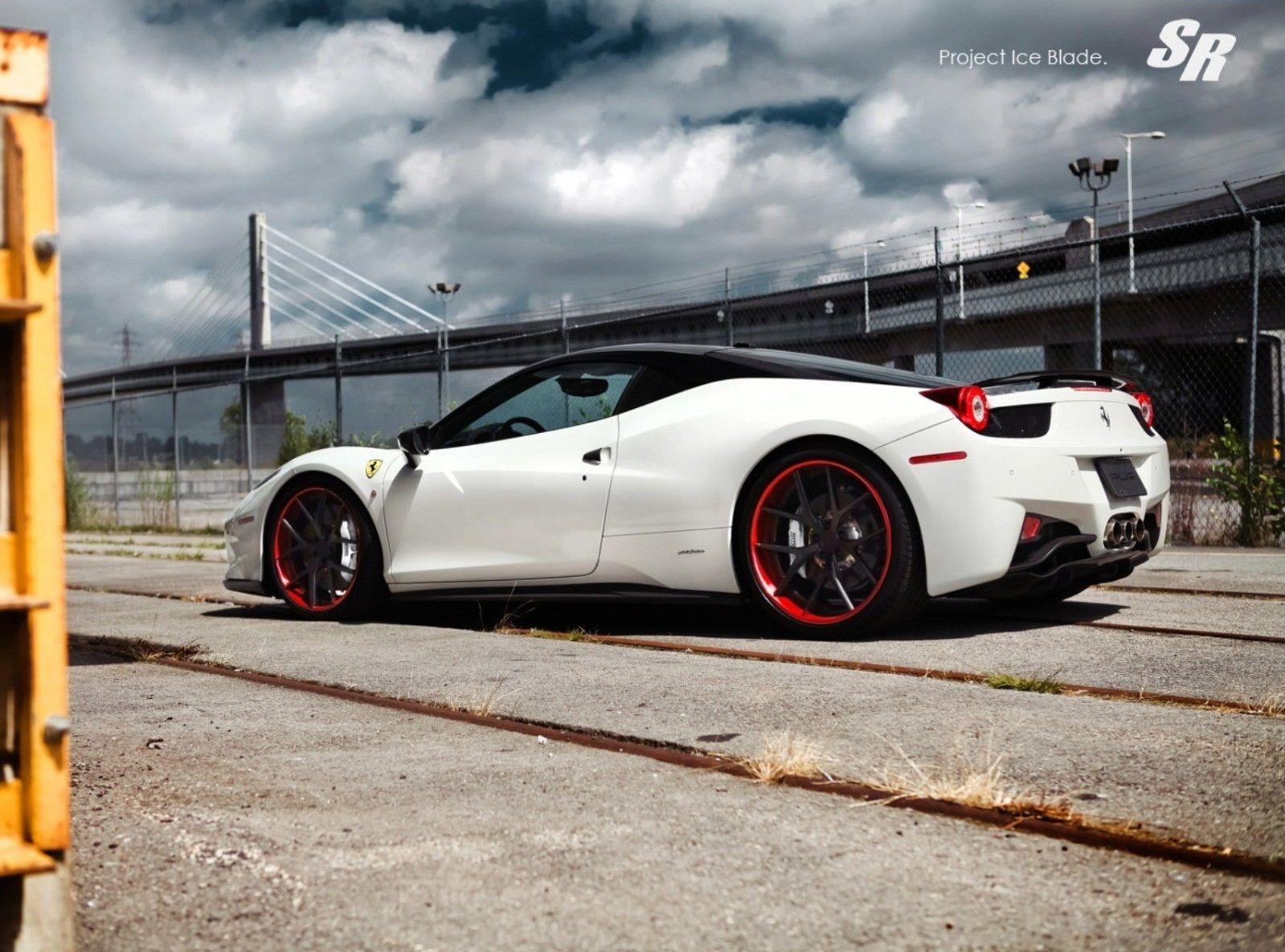 Ferrari 458 Italia Project Ice Blade By SR Auto
