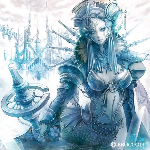 氷の城の魔女