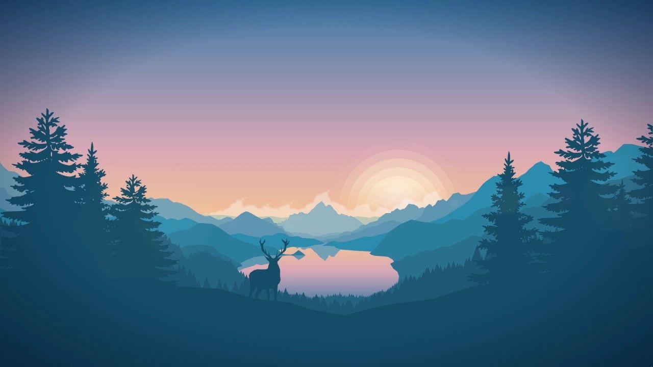 Anime Landscape Wallpaper Engine In 2020 Landscape Wallpaper Beautiful Landscape Wallpaper Landscape