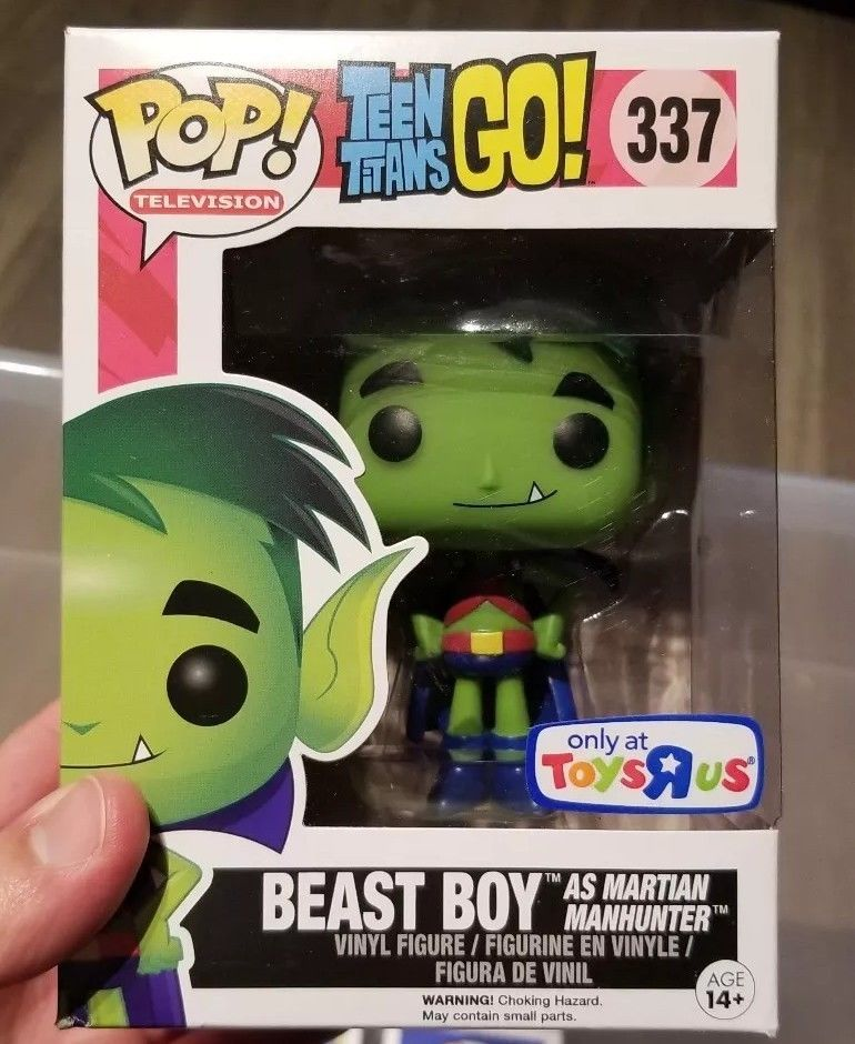 Beast Boy As Martian Manhunter Funko Pop 337 Toys R Us Exclusive