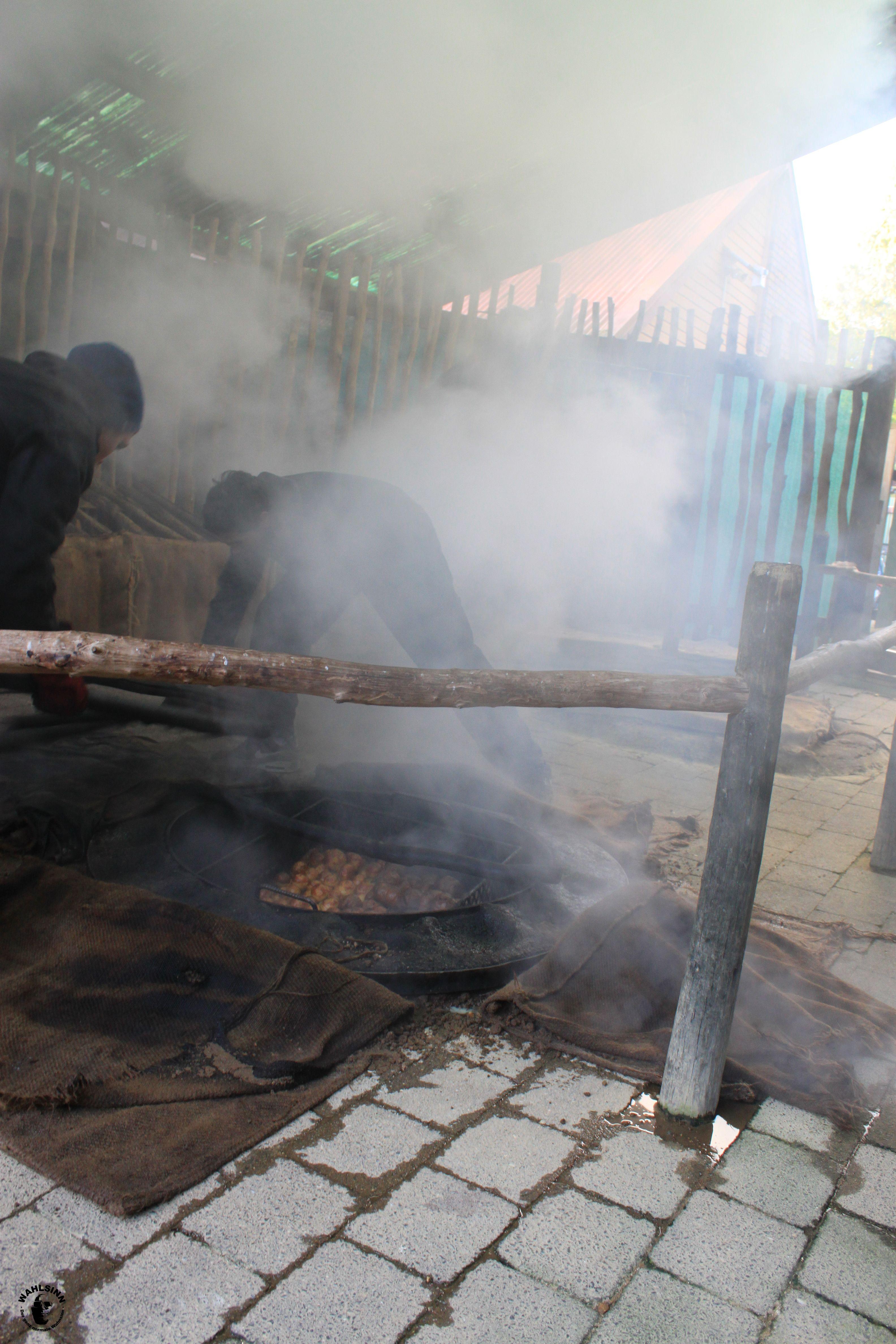 So kochen / Gären Maoris ihr Essen // Neuseeland