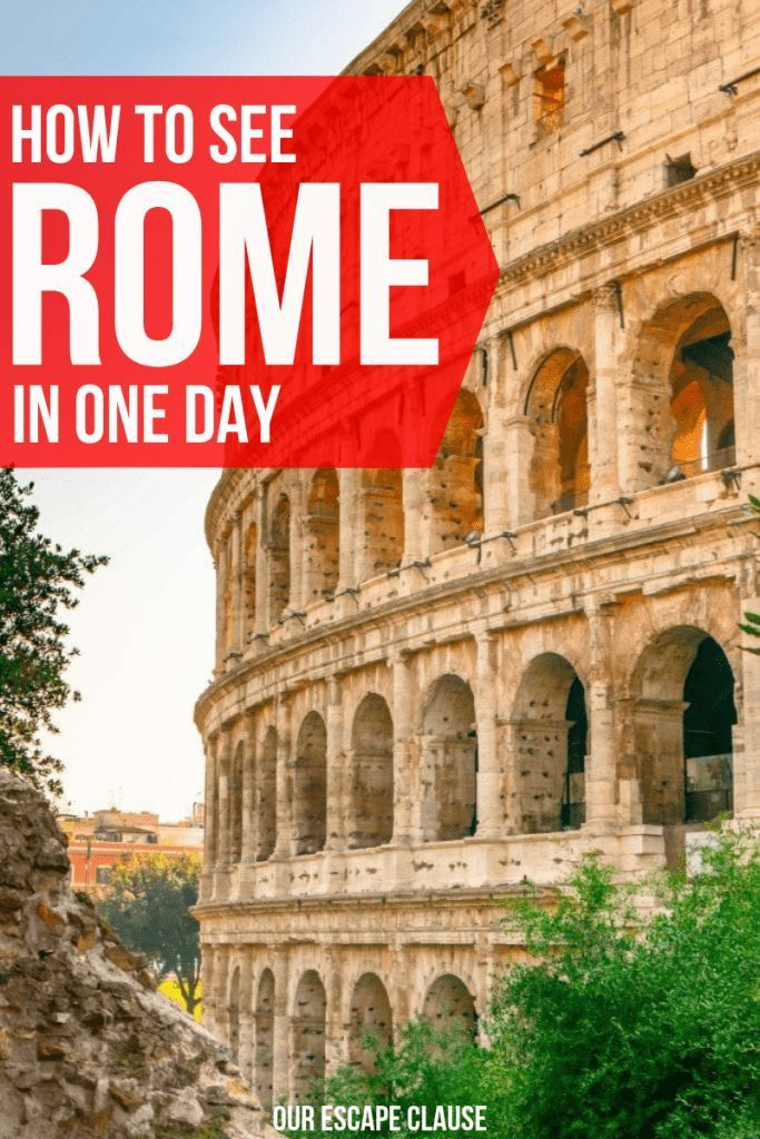 Photo of One Day in Rome: How to Conquer Rome in a Day – Our Escape Clause