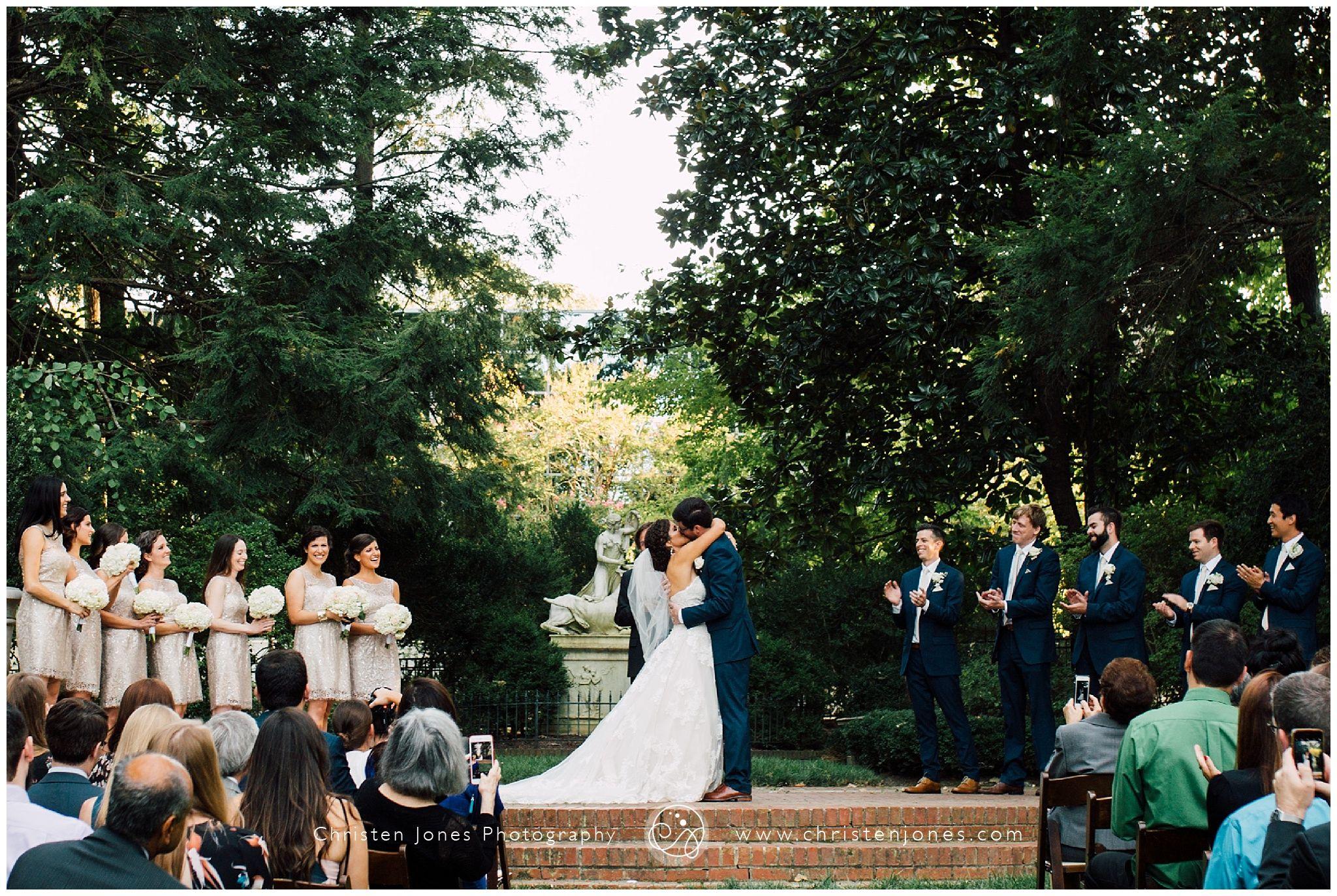 Memphis Dixon Gallery And Gardens Wedding Christen Jones