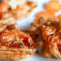 Ma recette du jour : Beignets de gambas sur Recettes.net