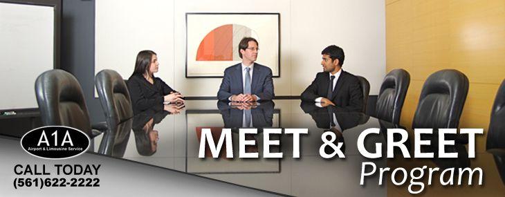 Meet greet program corporate transportation service pinterest met meet greet program m4hsunfo
