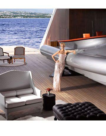 Inside Aleksandra Melnichenko's Megayacht   LUXURY YACHTS ...