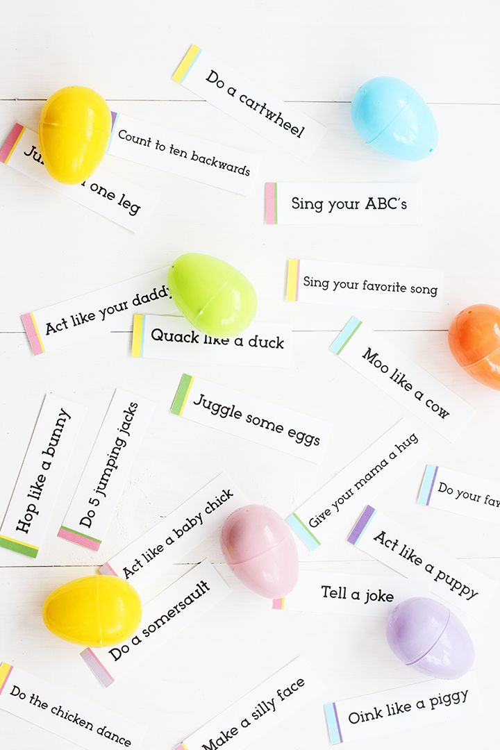Easter Egg Hunt Free Printable Easter Games For Kids