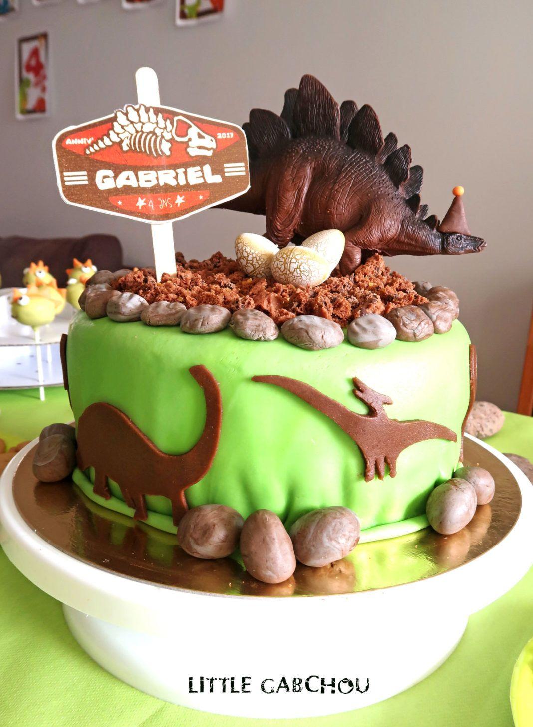 Recette pour g teau dinosaures f te anniversaire enfant geburtstag et geburt - Dinosaure rigolo ...