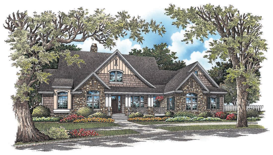 The Stonebrook House Plan By Donald A Gardner Architects Craftsman Floor Plans Craftsman House Plans Craftsman Style House Plans