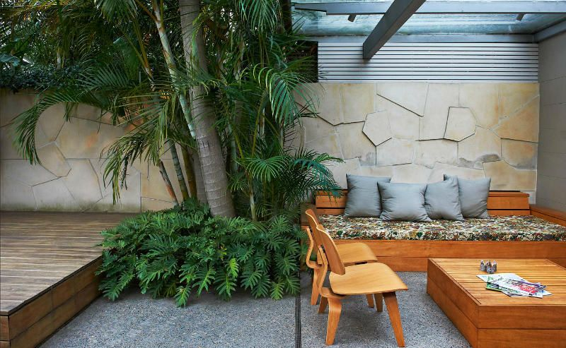 inner city courtyard by sydney based landscape designers good manors