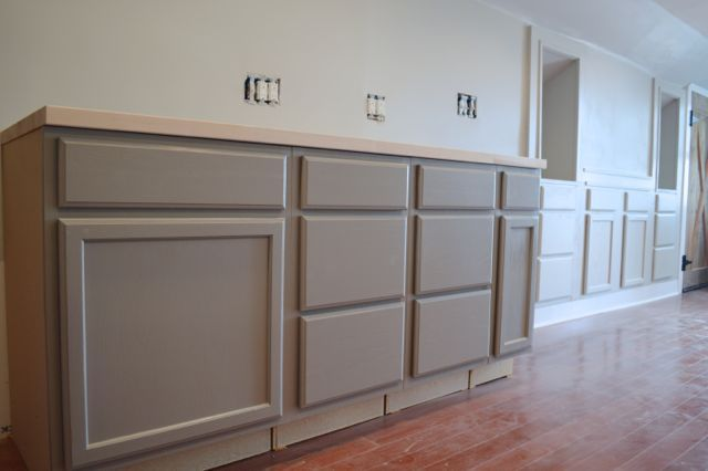 Painting kitchen cabinets at the barn   Painting kitchen cabinets ...