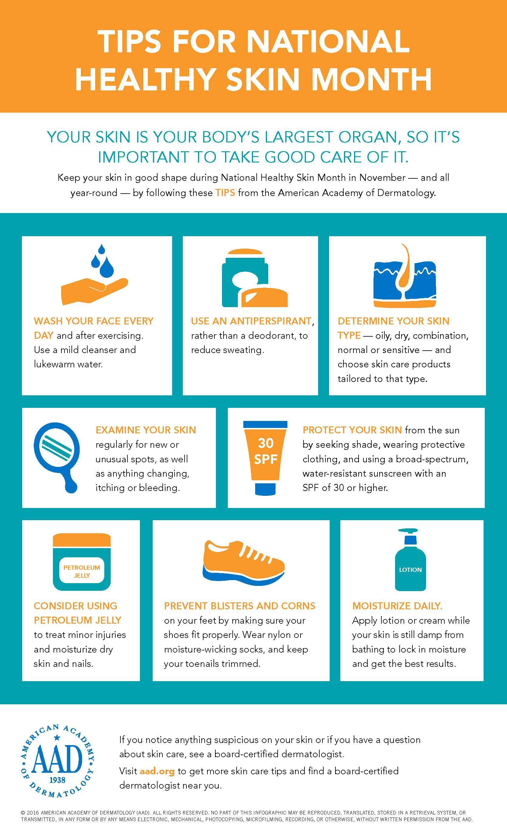 Tips for healthy skin  Healthy skin, Healthy skin tips, Skin