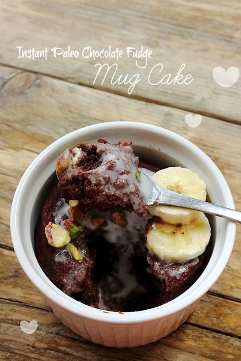 Instant Paleo Chocolate Fudge Cake - Peachy Palate