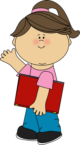 girl carrying book and waving clip art girl carrying book and rh pinterest co uk black girl clipart girl clip art images