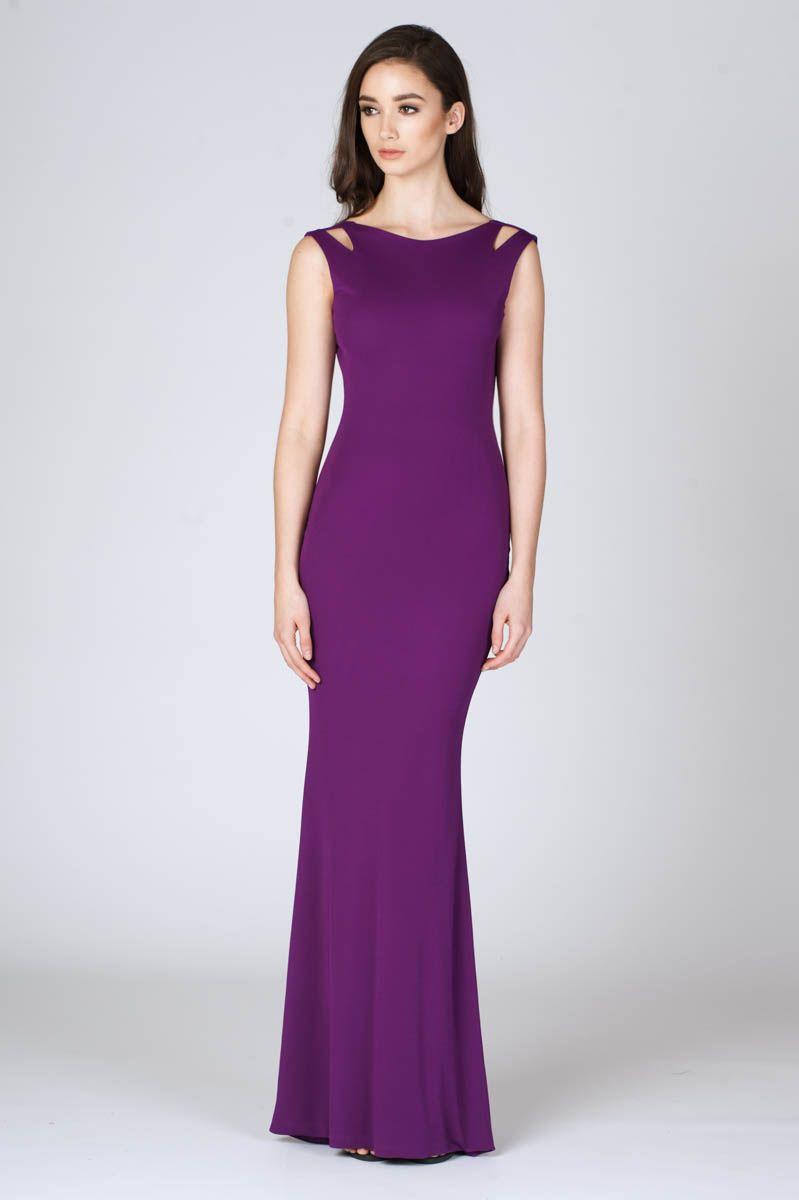 ono uno daze purple ~ backless dress | formal dress | Pinterest ...