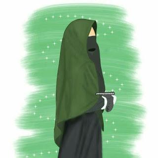 kumpulan anime muslimah bercadar keren (With images