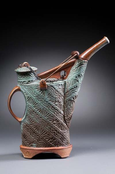 Vince Pitelka pottery at MudFire Gallery