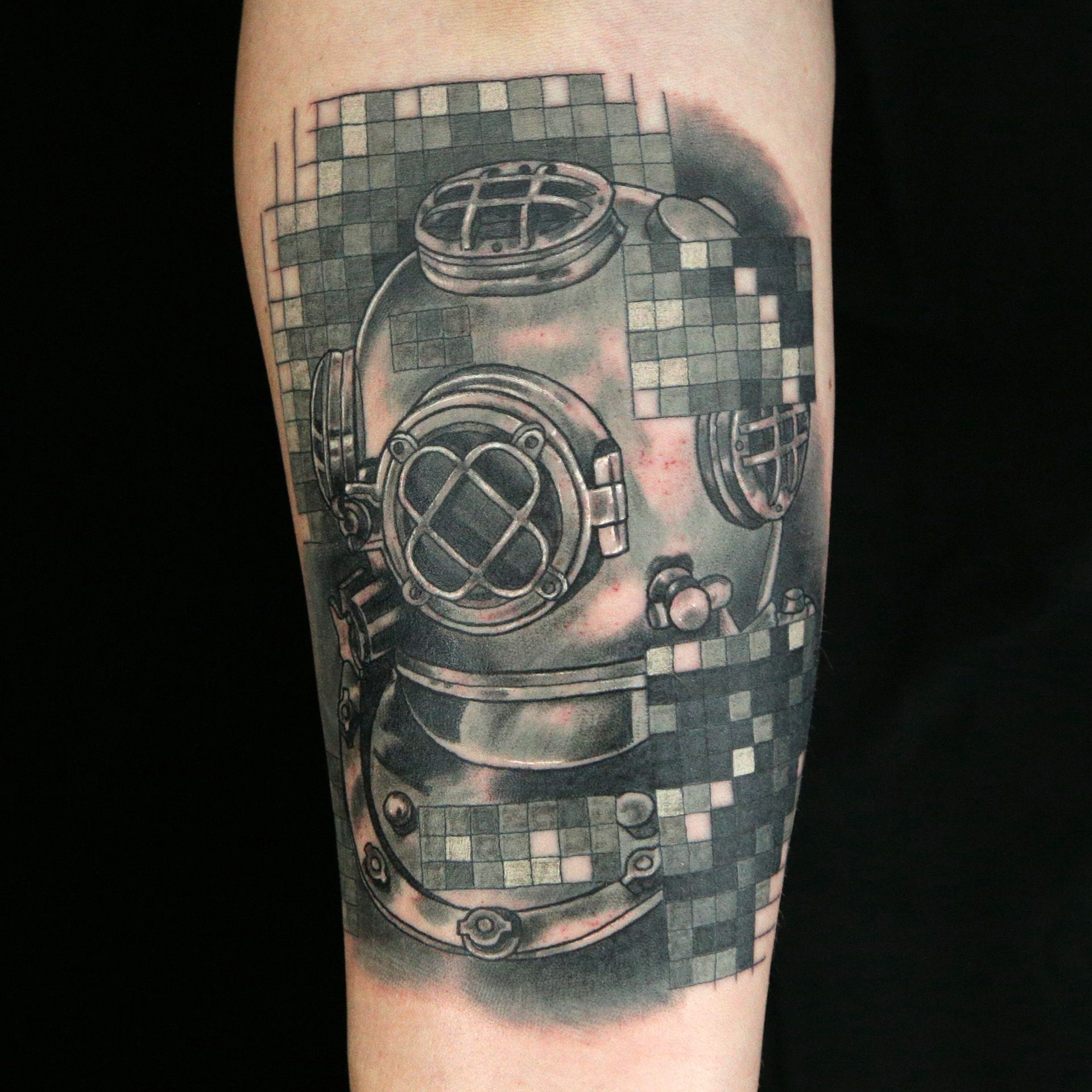 Pixel Tattoo By Fame Pixel Tattoo Ink Master Tattoos