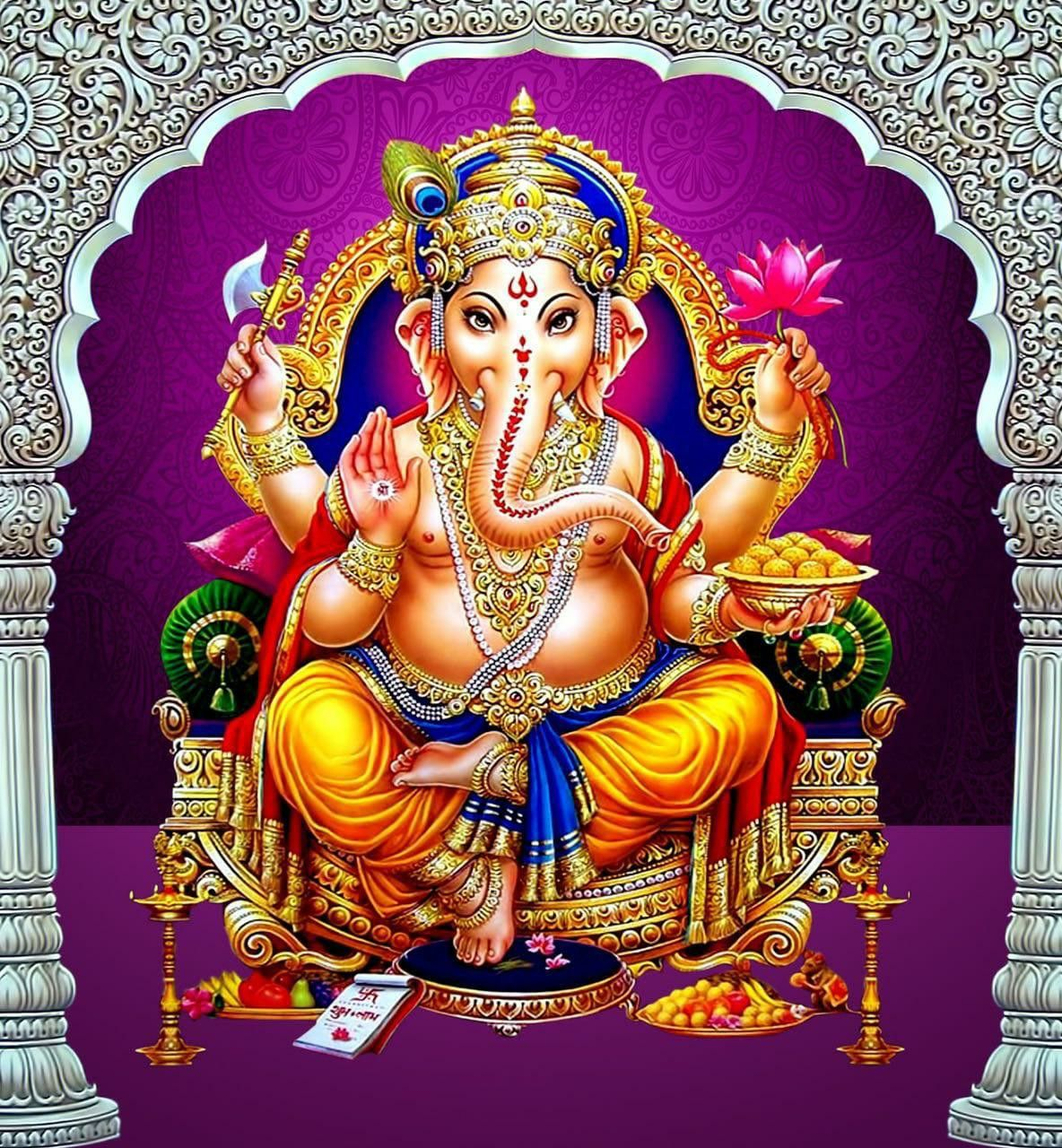Pin by Krishna on Lord Ganesha in 2020 (With images ...
