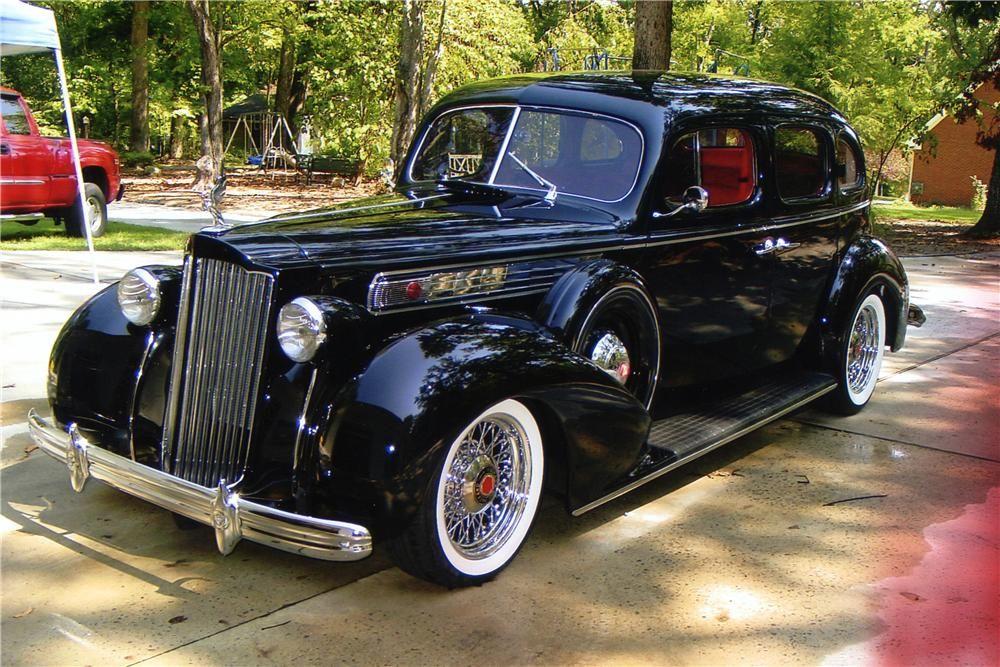 1939 Packard Senior 127 Custom 4 Door Sedan With Images Packard Cars Packard Sedan