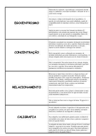 Relatorios Educacao Infantil Com Imagens Relatorios Educacao