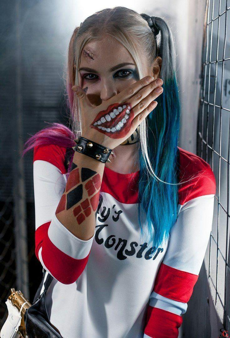 Courtney simpson harley quinn cosplay | XXX foto)