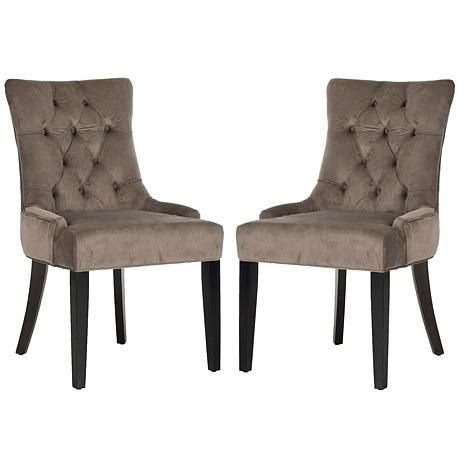 Safavieh Abby Set of 2 Side Chairs - 7907508 | HSN ...