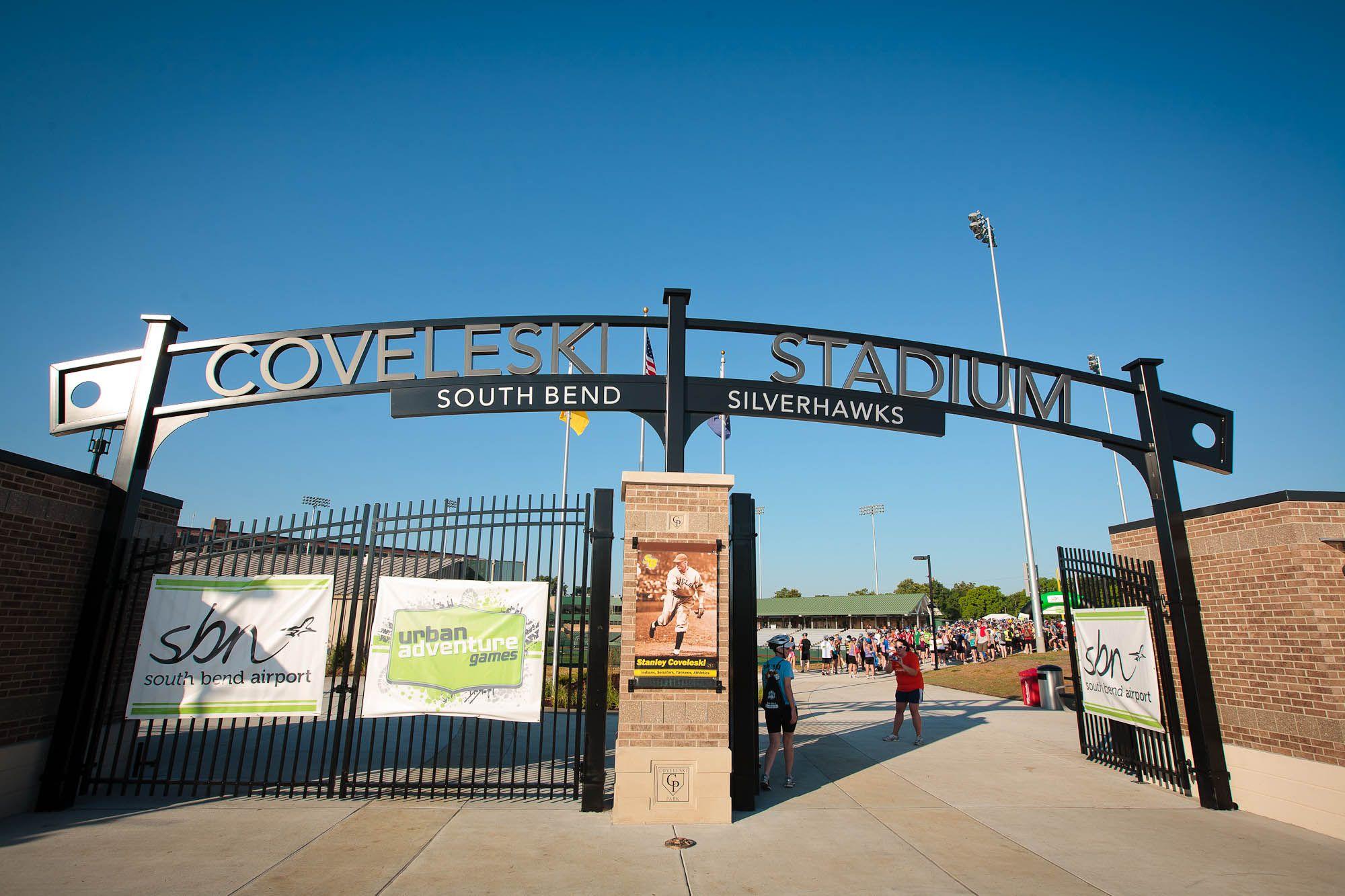 Coveleski Baseball Stadium 25 3 Miles From Southwestern Michigan College Summer In The City Southwestern Michigan College South Bend City
